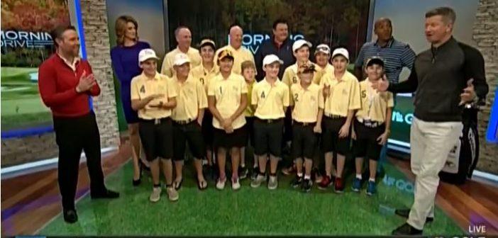 VIDEO Illinois PGA Junior League Team on Morning Drive