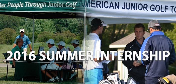 Apply Today! 2016 Summer Internship
